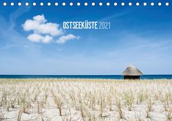 Ostseeküste 2021 (Tischkalender 2021 DIN A5 quer) von Kerpa,  Ralph