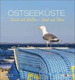 Ostseeküste Postkartenkalender 2022 von Eiland