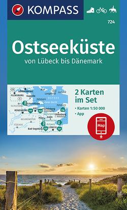 Ostseeküste von Lübeck bis Dänemark von KOMPASS-Karten GmbH