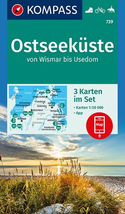Ostseeküste von Wismar bis Usedom von KOMPASS-Karten GmbH