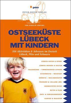 Ostseeküste Lübeck mit Kindern von Küntzel,  Karolin