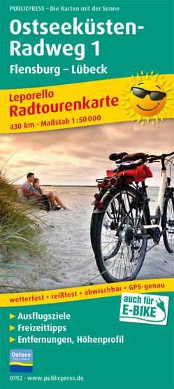 Ostseeküsten-Radweg 1, Flensburg-Lübeck