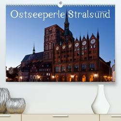 Ostseeperle Stralsund (Premium, hochwertiger DIN A2 Wandkalender 2021, Kunstdruck in Hochglanz) von boeTtchEr,  U