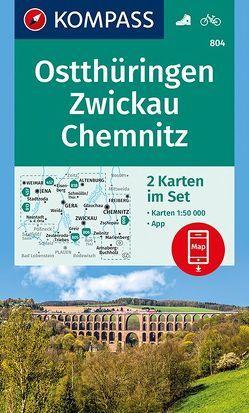 Ostthüringen, Zwickau, Chemnitz von KOMPASS-Karten GmbH