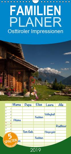Osttiroler Impressionen – Familienplaner hoch (Wandkalender 2019 , 21 cm x 45 cm, hoch) von Matthies,  Axel