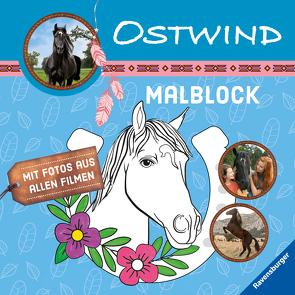 Ostwind: Malblock von Alias Entertainment GmbH, Hahn,  Stefanie