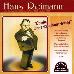 Oswin, der ertrunkene Hering von Reimann,  Hans