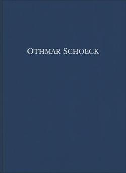 Othmar Schoeck: Sämtliche Werke / Don Ranudo von Lütolf,  Max, Seedorf,  Thomas
