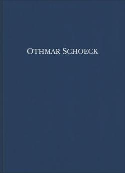 Othmar Schoeck: Sämtliche Werke / Massimilla Doni, Klavierauszug von Baumgartner,  Michael, Lütolf,  Max