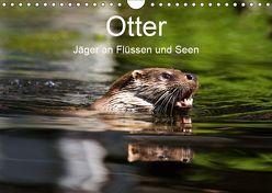 Otter – Jäger an Flüssen und Seen (Wandkalender 2019 DIN A4 quer)