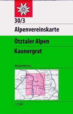 Ötztaler Alpen – Kaunergrat