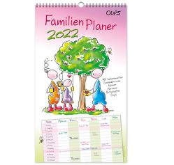 Oups Familienplaner 2022 von Böttinger,  Johannes, Hörtenhuber,  Kurt