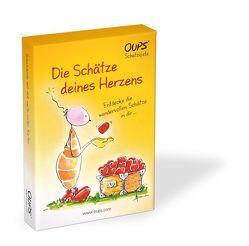 Oups-Karten – Oups-Schatzkiste – Die Schätze deines Herzens von Bender,  Günter, Hörtenhuber,  Kurt