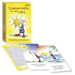 """Oups Karten – """"Sonnenstrahlen für unser Herz"""" von Hörtenhuber,  Kurt, Wolf,  Conny"""