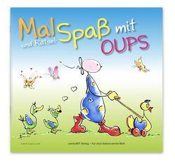 Oups Malbuch – Mal- & Rätselspaß von Bender,  Günter, Hörtenhuber,  Kurt