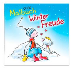 Oups Malbuch – WinterFreude von Hörtenhuber,  Kurt, Johannes,  Böttinger