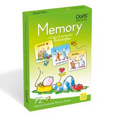 OUPS Memory – mit liebe & wertevollen Botschaften von Böttinger,  Johannes, Hörtenhuber,  Kurt
