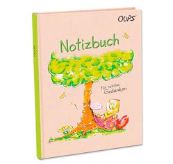 Oups-Notizbuch – grün