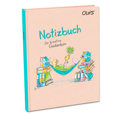 Oups-Notizbuch – türkis