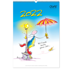 Oups Wandkalender 2022 von Bender,  Günter, Hörtenhuber,  Kurt