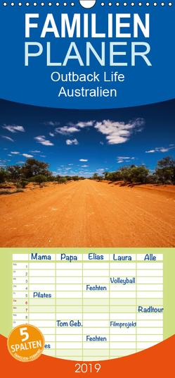 Outback Life – Australien – Familienplaner hoch (Wandkalender 2019 , 21 cm x 45 cm, hoch) von Fietzek,  Anke