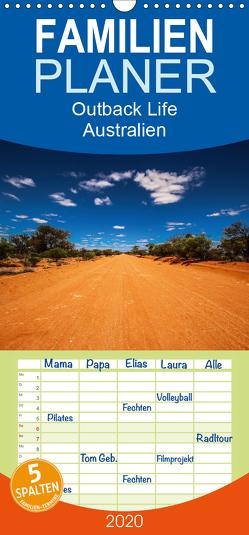 Outback Life – Australien – Familienplaner hoch (Wandkalender 2020 , 21 cm x 45 cm, hoch) von Fietzek,  Anke
