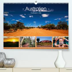Outback Life – Australien (Premium, hochwertiger DIN A2 Wandkalender 2021, Kunstdruck in Hochglanz) von Fietzek,  Anke