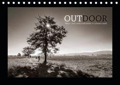 OUTDOOR – Natur- und Landschaftsbilder in schwarz-weiß (Tischkalender 2019 DIN A5 quer)
