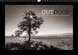 OUTDOOR – Natur- und Landschaftsbilder in schwarz-weiß (Wandkalender 2018 DIN A3 quer) von Bosch,  Gerhard