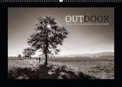OUTDOOR – Natur- und Landschaftsbilder in schwarz-weiß (Wandkalender 2019 DIN A2 quer)