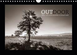 OUTDOOR – Natur- und Landschaftsbilder in schwarz-weiß (Wandkalender 2019 DIN A4 quer)