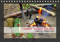 Outdoor-Survival-Kalender (Tischkalender 2019 DIN A5 quer) von Schaad,  Xenia