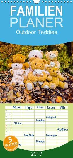 Outdoor Teddies – Familienplaner hoch (Wandkalender 2019 <strong>21 cm x 45 cm</strong> hoch) von Sigwarth,  Karin