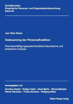 Outsourcing der Personalfunktion von Kwon,  Jun Hwa