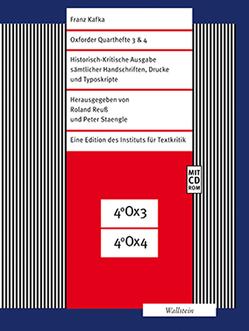 Oxforder Quarthefte 3 & 4 von Kafka,  Franz, Reuss,  Roland, Staengle,  Peter