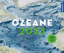 Ozeane 2023 von KOSMOS Kartografie,  -