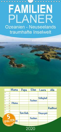 Ozeanien – Neuseelands traumhafte Inselwelt – Familienplaner hoch (Wandkalender 2020 , 21 cm x 45 cm, hoch) von Photo4emotion.com