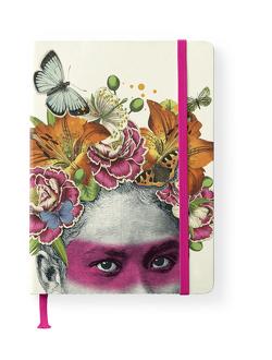 Pabuku 16×22 cm – GreenLine Journal – 176 Seiten, Punktraster und blanko – Hardcover – gebunden