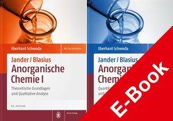 Package: Jander/Blasius, Anorganische Chemie I + II von Schweda,  Eberhard