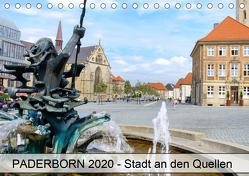 PADERBORN – Stadt an den Quellen (Tischkalender 2020 DIN A5 quer) von Loh,  Hans-Joachim