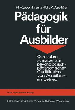 Pädagogik für Ausbilder von Rosenkranz,  Hans