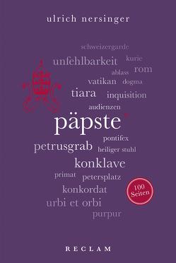 Päpste. 100 Seiten von Nersinger,  Ulrich