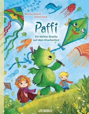 Paffi. Ein kleiner Drache auf dem Drachenfest von Daub,  Leonie, Goeschl,  Bettina