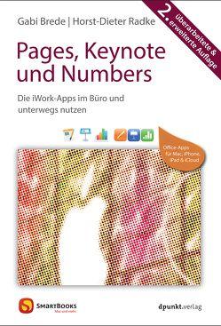 Pages, Keynote und Numbers von Brede,  Gabi, Radke,  Horst-Dieter