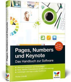 Pages, Numbers und Keynote von Gründel,  Florian