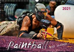 Paintball – so cool (Wandkalender 2021 DIN A3 quer) von Roder,  Peter