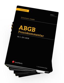 PAKET ABGB Praxiskommentar, 5. Auflage von Kodek,  Georg E., Schwimann,  Michael