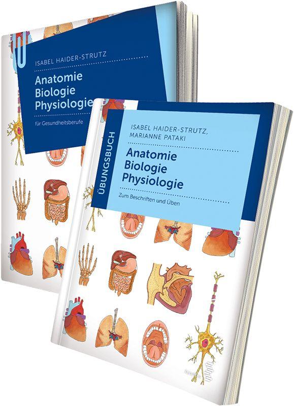 Paket Anatomie - Biologie - Physiologie für Gesundheitsberufe und Üb