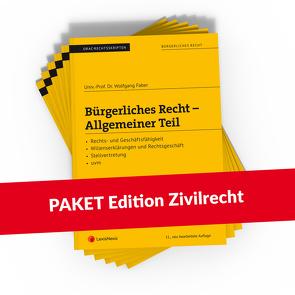 PAKET Edition Zivilrecht (Skripten) von Böhm,  Helmut, Mohr,  Franz