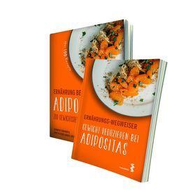 Paket Ernährung bei Adipositas und Ernährungs-Wegweiser Adipositas von Frühwirth,  Jennifer, Schöllbauer,  Christa, Schramm,  Helena